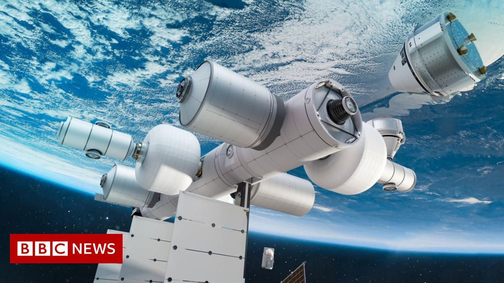 Blue Origin: Jeff Bezos unveils plans for 'space business park' - BBC News : His space company Blue Origin hopes its venture will replace the International Space Station.  | Tranquility 國際社群