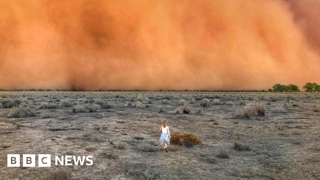 Australia's extreme weather in pictures