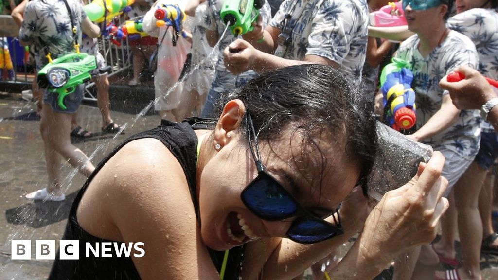 Songkran: Thailand celebrates Buddhist new year with water fights