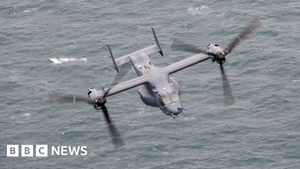 Point Blank exercise over North Sea tests US and RAF warplanes