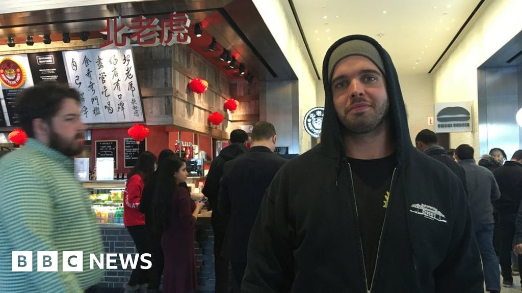 'I wasn't allowed to buy my burrito with cash'