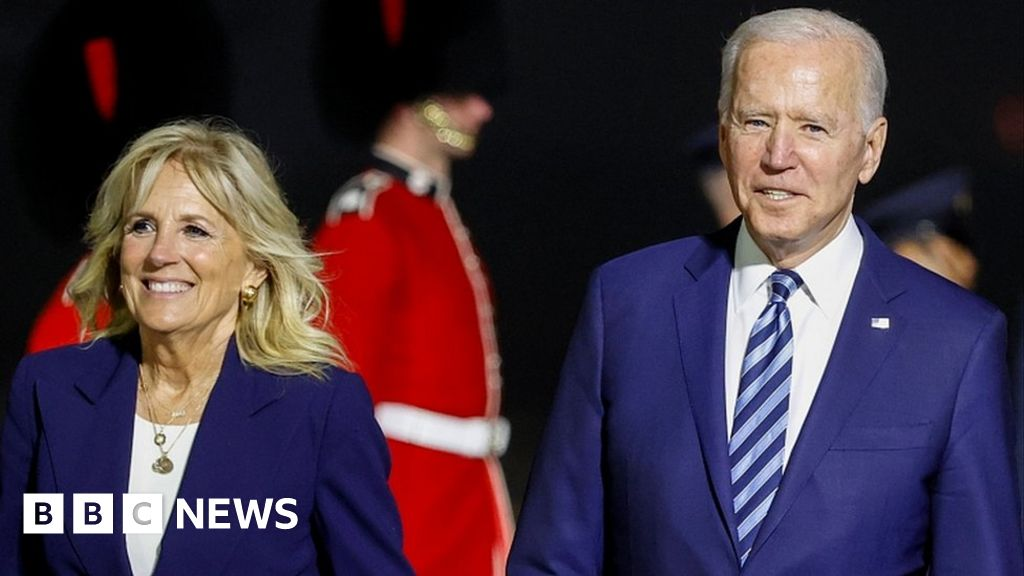 Biden warns Russia against 'harmful activities' at start of first official trip – BBC News