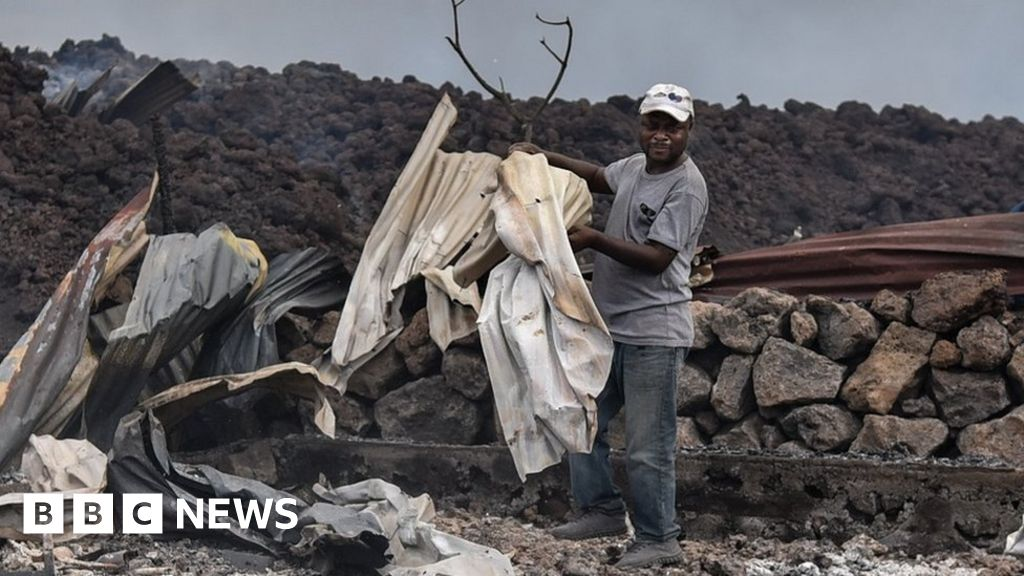 DR Congo's Goma volcano: Desperate search for children missing after eruption – BBC News