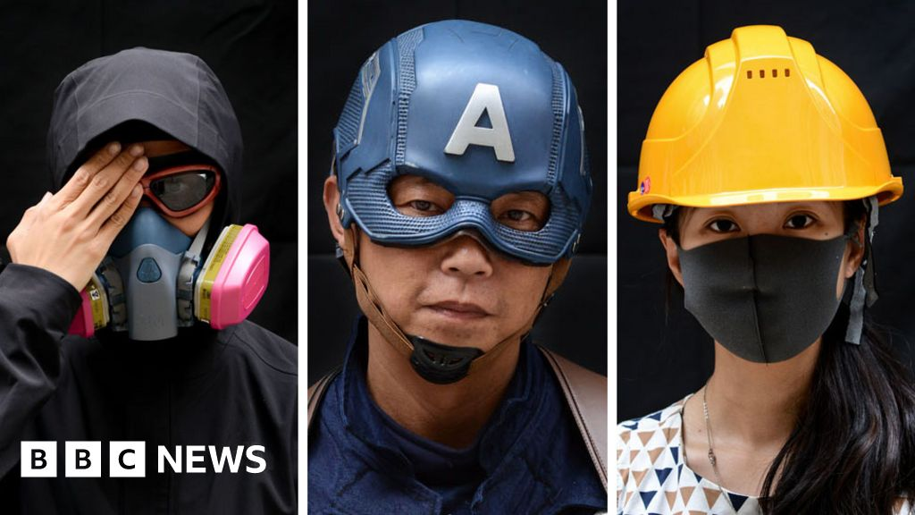 Picture power: Masked protest