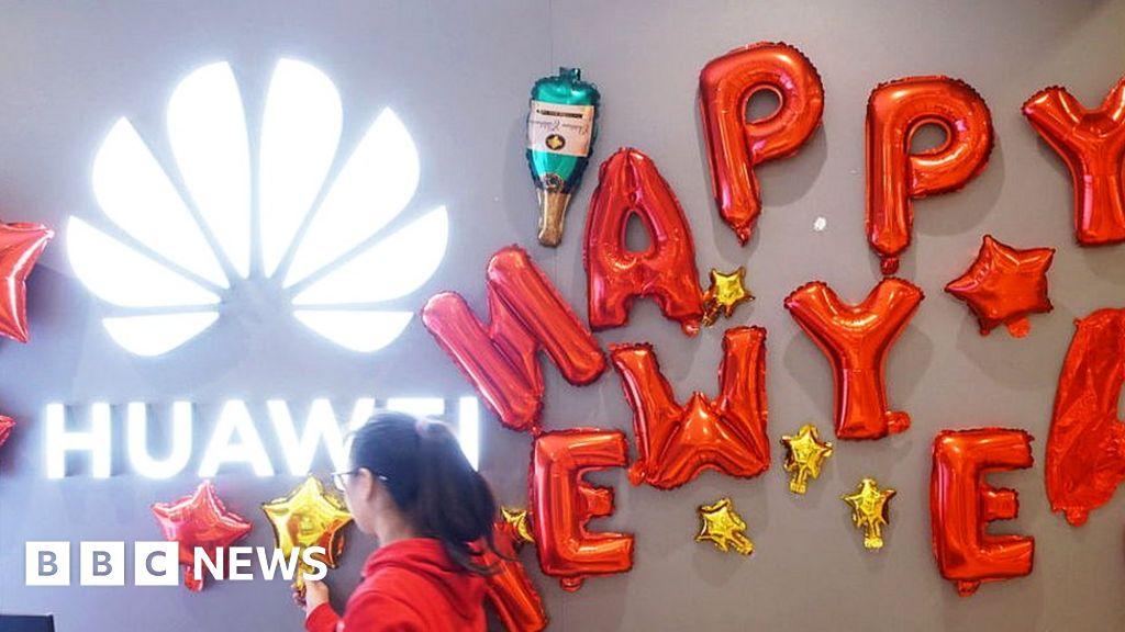 "Huawei feels ""bite of winter"" to Trump ban"