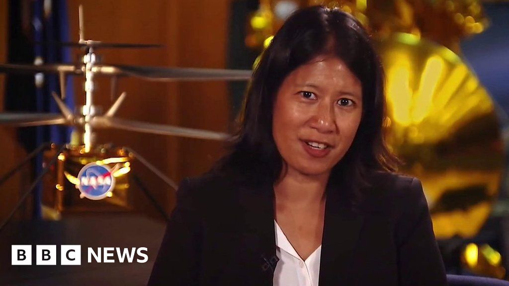 Nasa Mars 2020 Mission's MiMi Aung on women in space thumbnail