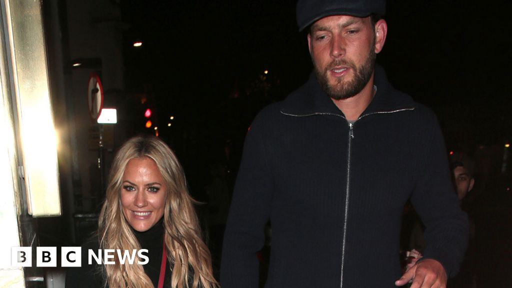Caroline Flack: Lewis Burton defends  lovely  girlfriend after arrest