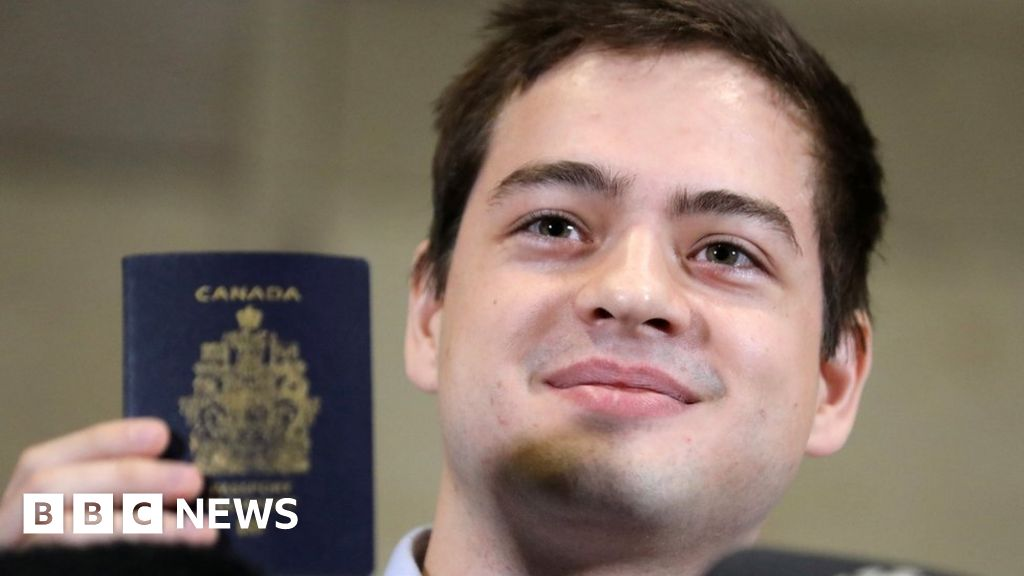 The son of Russian spies in relief  Canadian feels