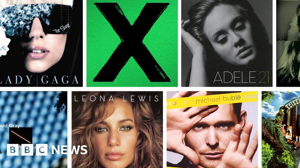Radio 2 shows the best-selling albums of the 21st century