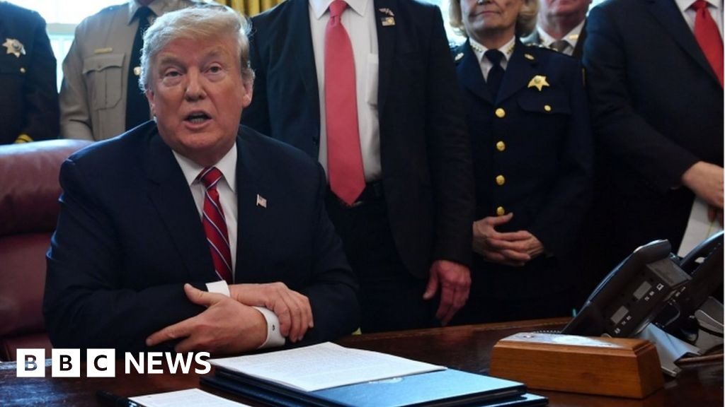 Trump issues veto over border emergency thumbnail