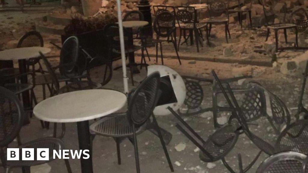 Earthquake hits Greece and Turkey