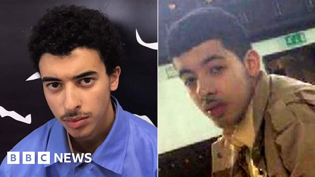 Manchester Arena bomber Salman Abedi caught on CCTV days before the attack