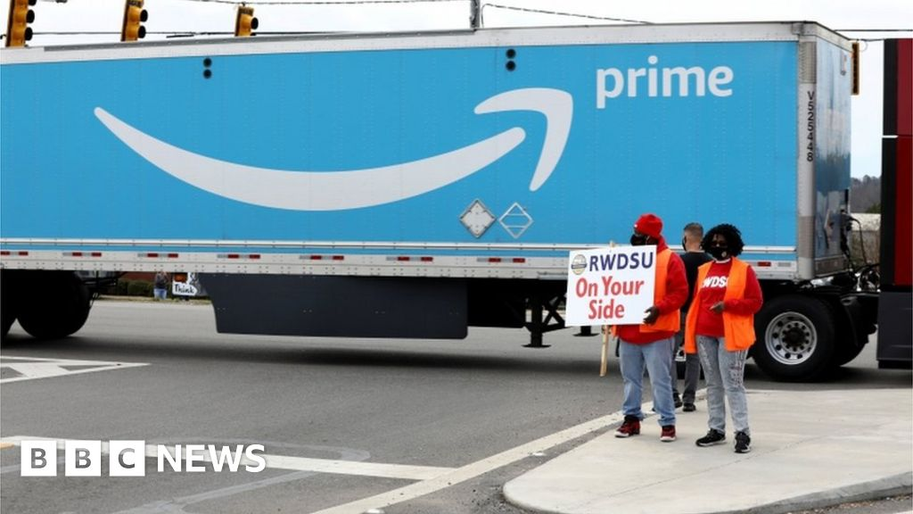 Official recommends rerun in Amazon union fight