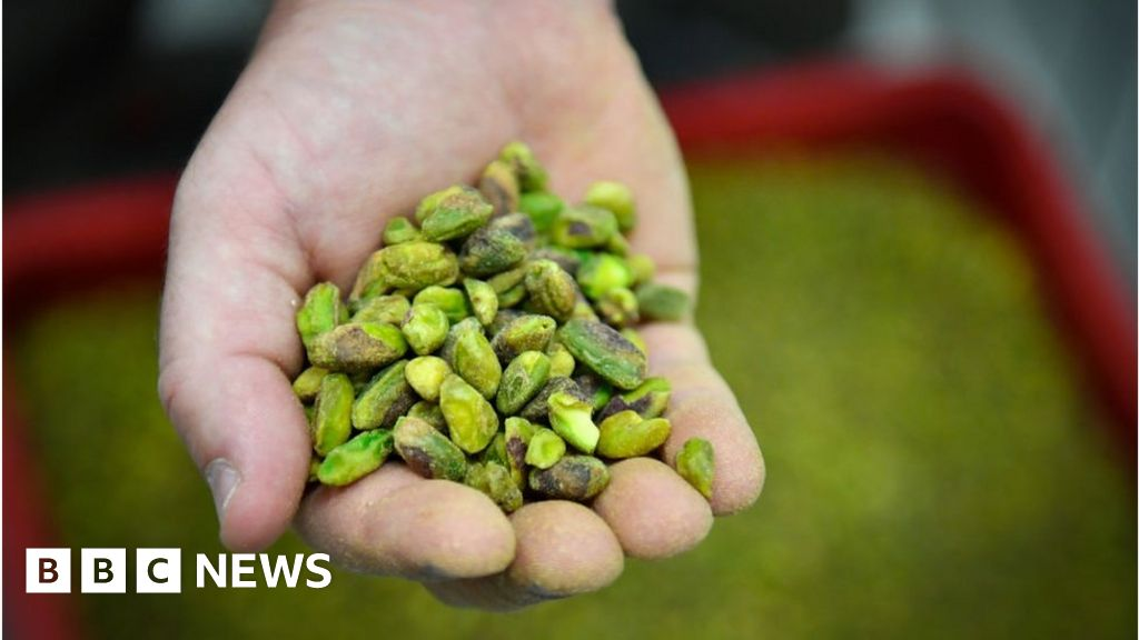 The California man was arrested for a theft of 42,000 pounds of pistachios