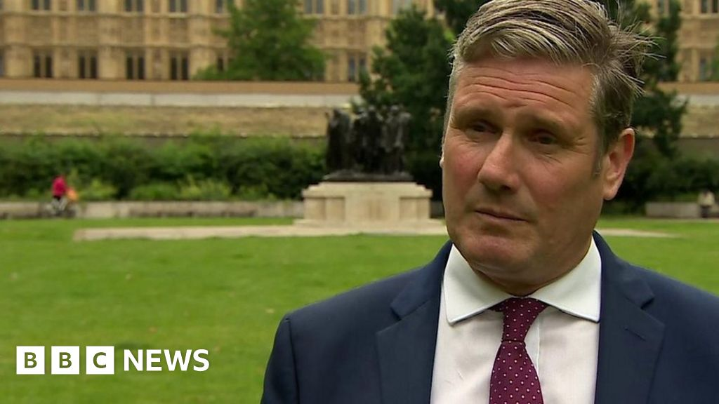 Covid-19: 'Lifting all protections at once is reckless' - Keir Starmer