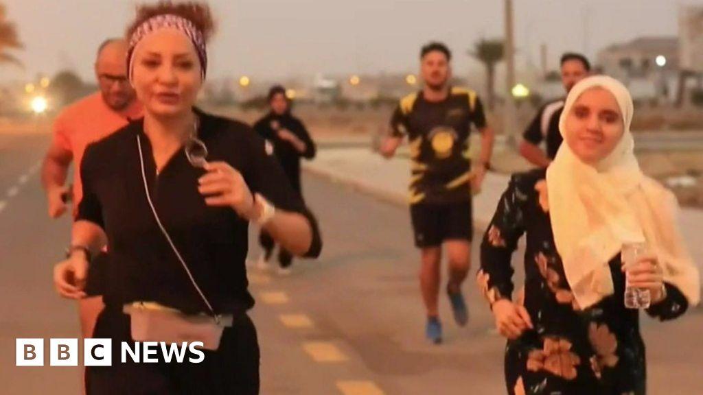 The Saudi women runners pushing boundaries