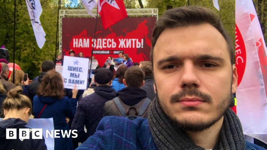 Ruslan Shaveddinov: Russian opposition activist  kidnapped  by army