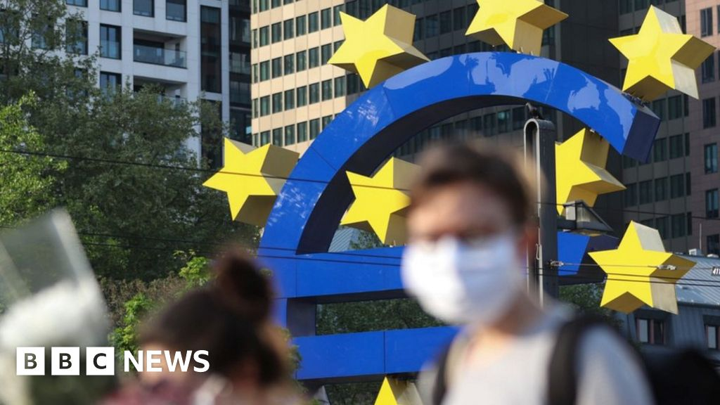 Eurozone suffers double-dip recession as pandemic impact continues – BBC News