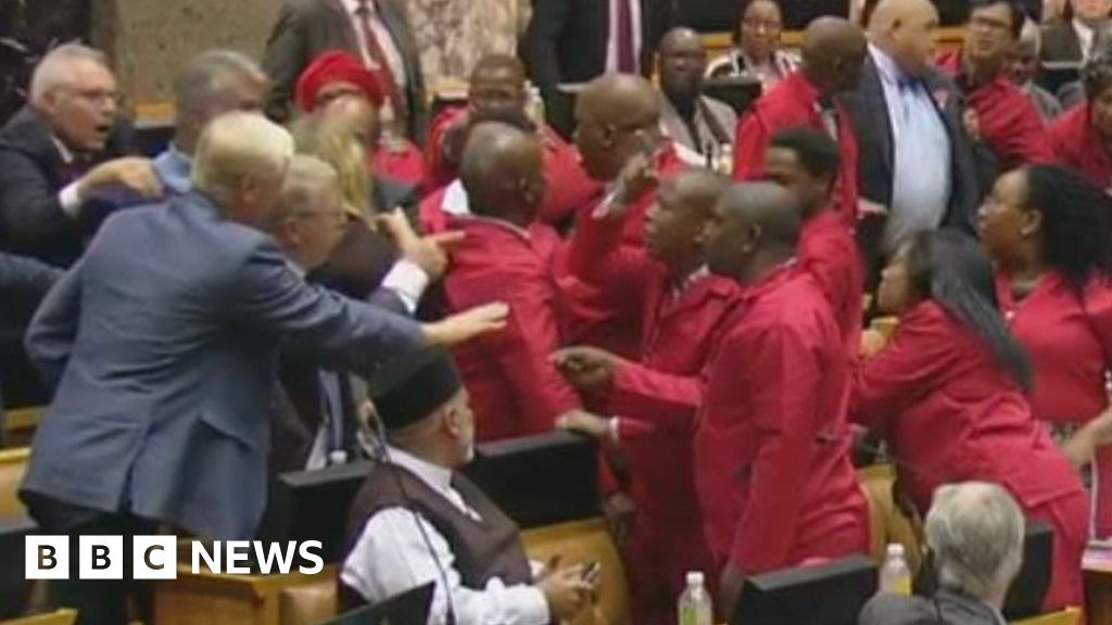 The 'bank heist' that sparked a parliamentary brawl