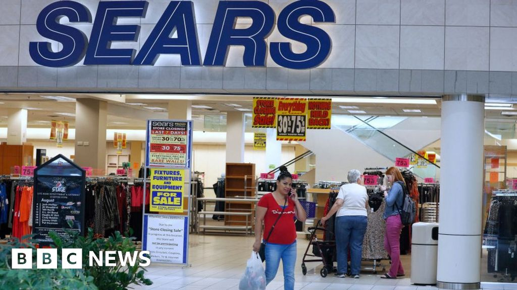 US retailer Sears files for bankruptcy