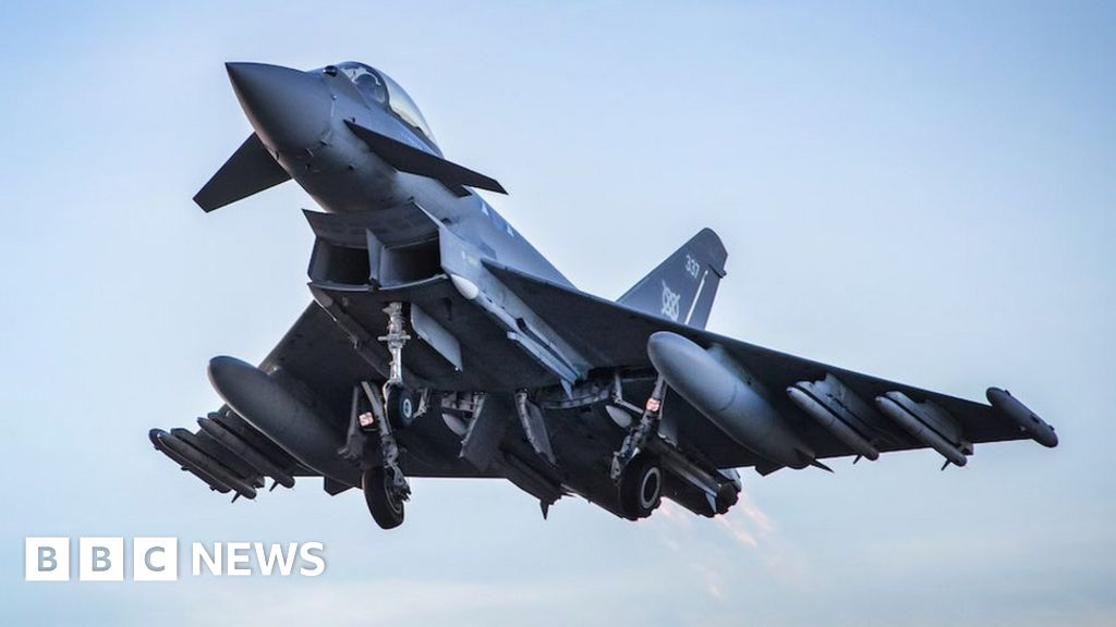 RAF jets scrambled over 'Russian' bombers