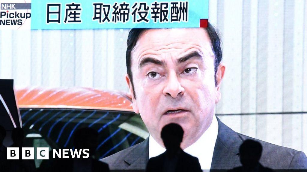 Carlos Ghosn : Renault names interim chief executive