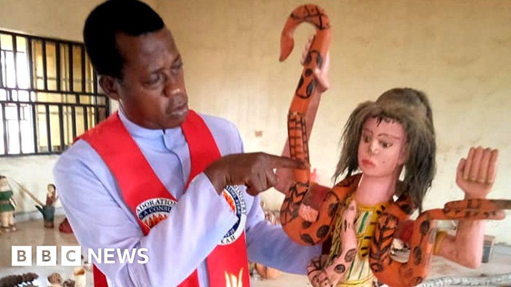 The Nigerian priest saving Igbo deities from the bonfires
