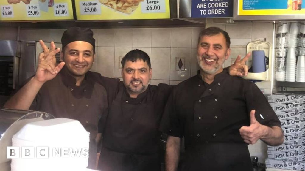 Cardiff chip shop to open on Christmas Day for homeless