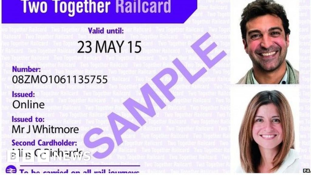 Apology over railcards issued with missing photos