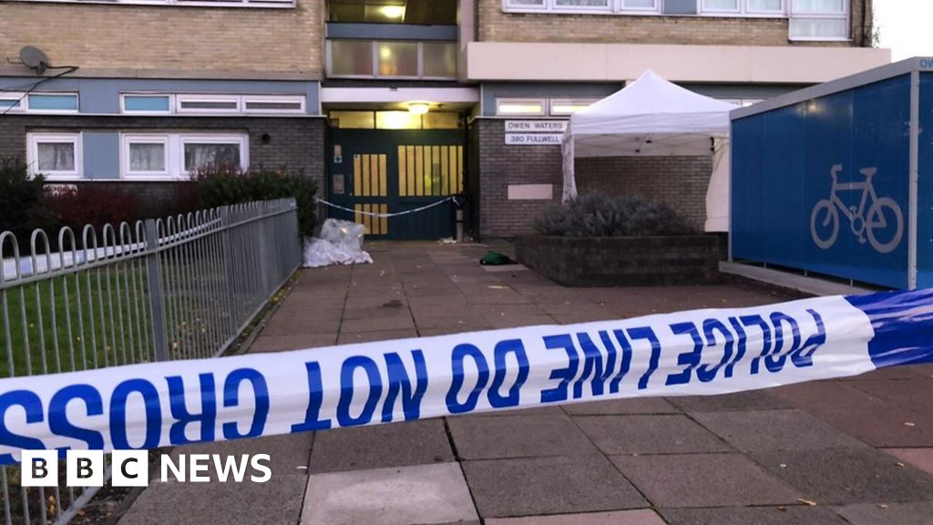 Ilford stabbing: Man killed in fight outside flats
