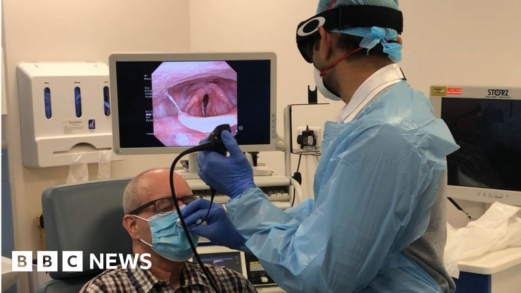 Covid-safe mask for ENT procedures offered to NHS for free thumbnail