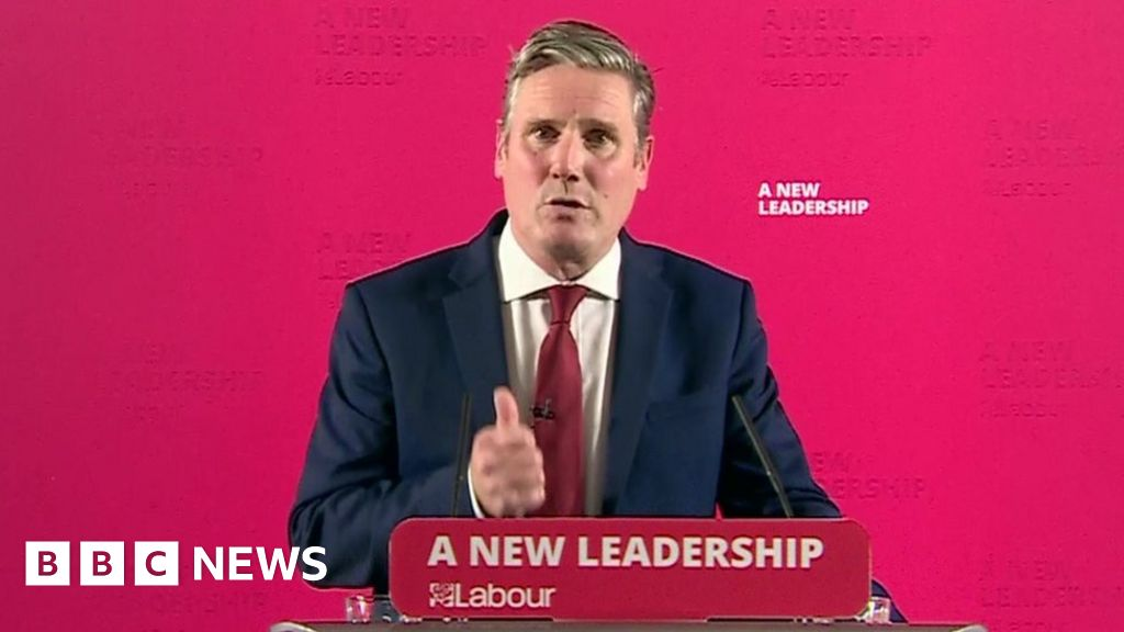 Covid-19: Labour leader Sir Keir Starmer calls for circuit breaker - BBC  News