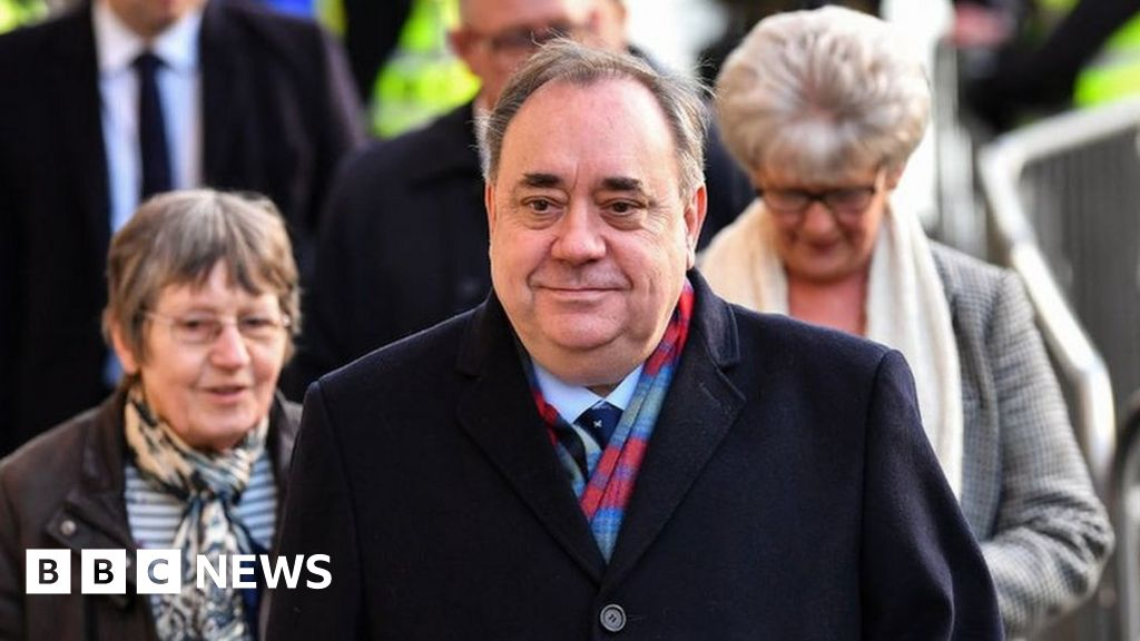 Alex Salmond in court on sex offence charges