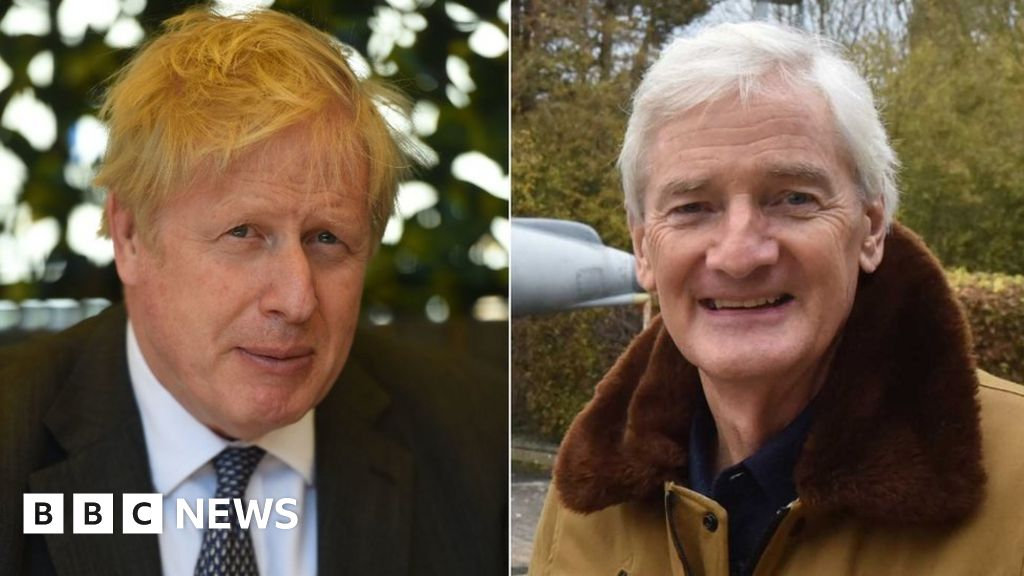 Boris Johnson told Sir James Dyson by text he would 'fix' tax issue