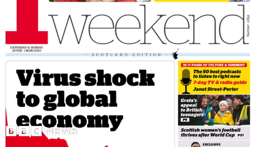 Scotland's papers: Coronavirus shocks economy and pistols in the post thumbnail
