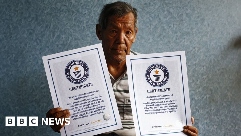 Nepalese Ang Rita Sherpa: Everest record-breaker dies aged 72 thumbnail