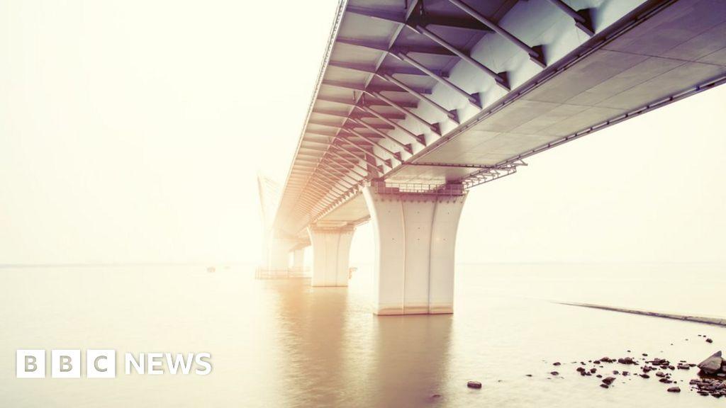 "The work is ""under way"" in the Scotland-Northern Ireland bridge feasibility"