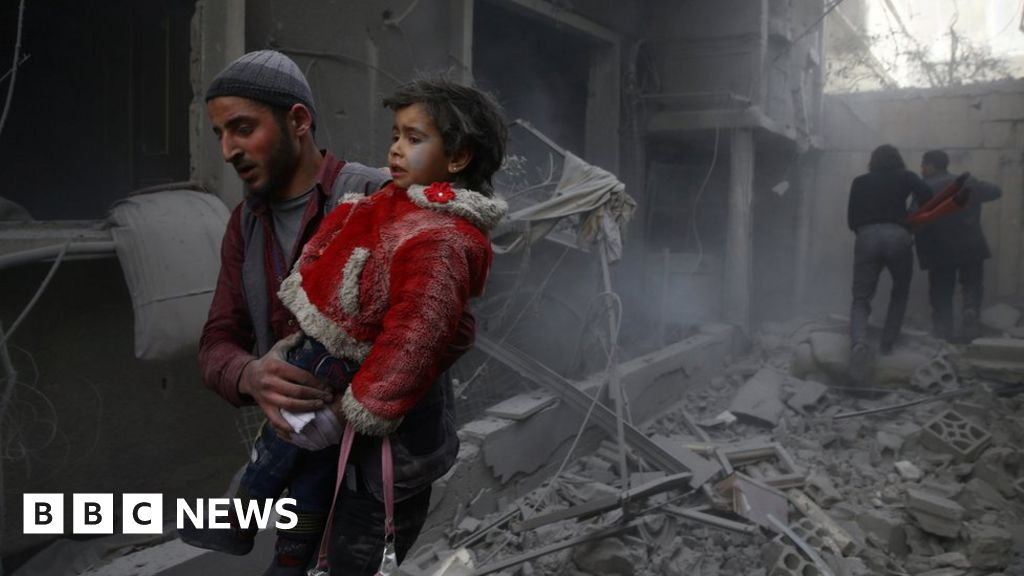 War crimes committed in Syria battle - UN