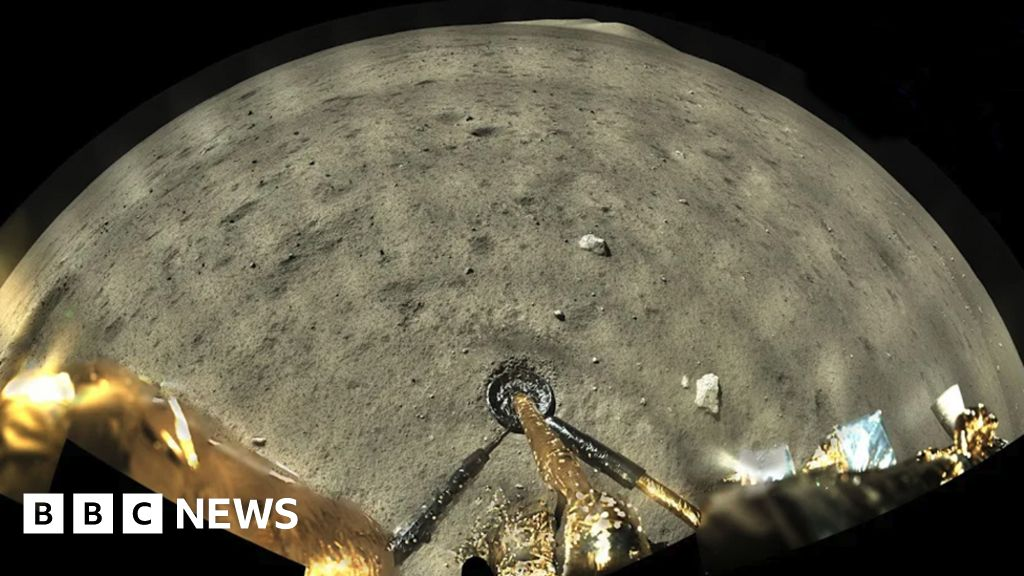 China's Chang'e-5 Moon mission returns colour pictures