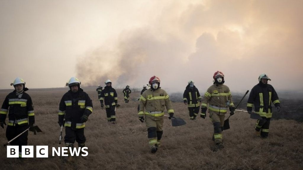 Wildfires rip through Poland's biggest national park