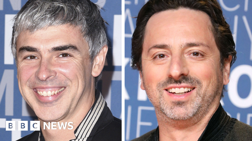 Google co-founders Larry Page and Sergey Brin to step down from parent firm
