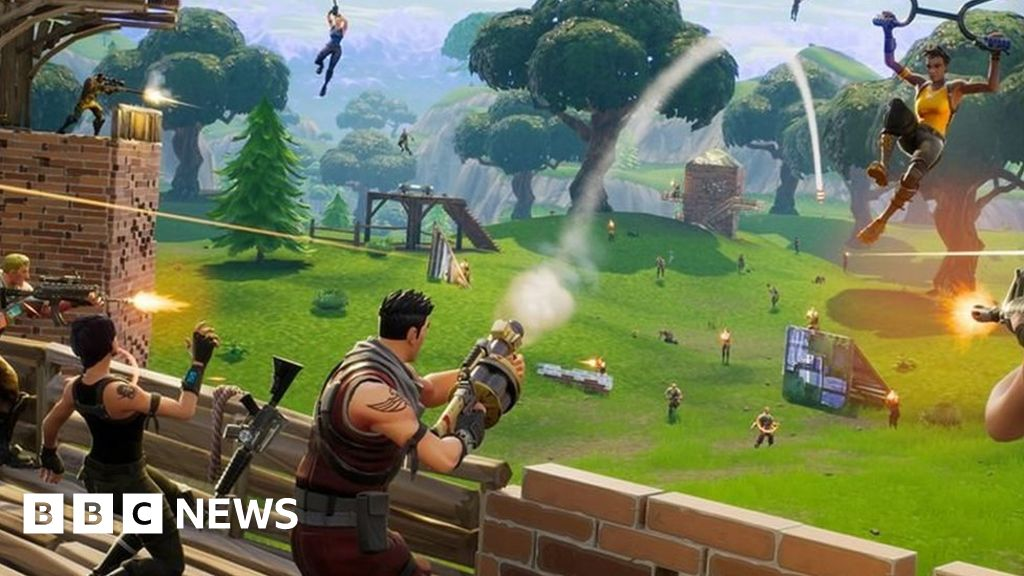 Battle Royale: Fortnite hit by server outage - BBC News