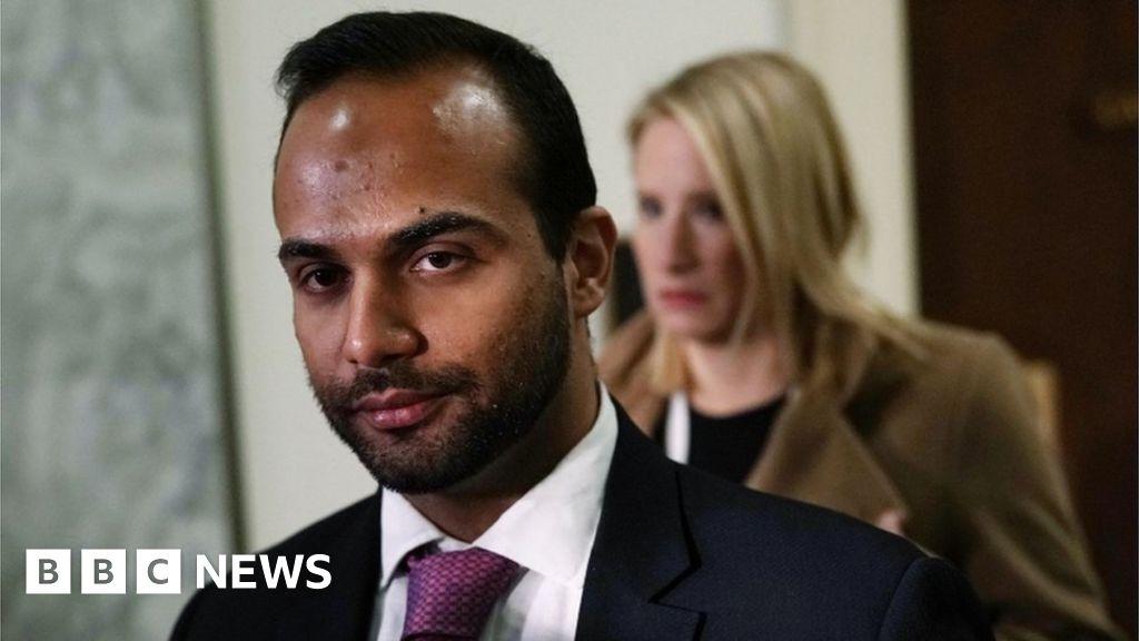 George Papadopoulos: Ex-Trump adviser goes to prison - BBC News