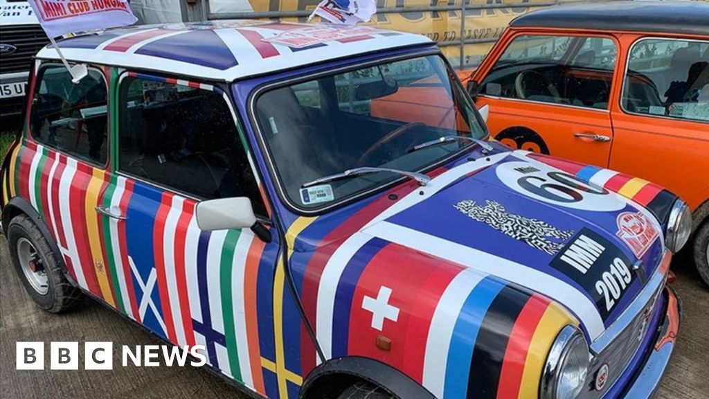 The Mini at 60: Fans share their pictures of the little car