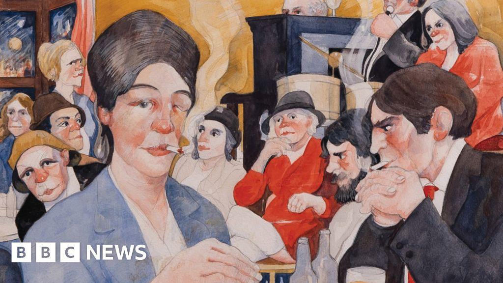 Eric Tucker: Exhibition fulfils  unseen  artist s final wish