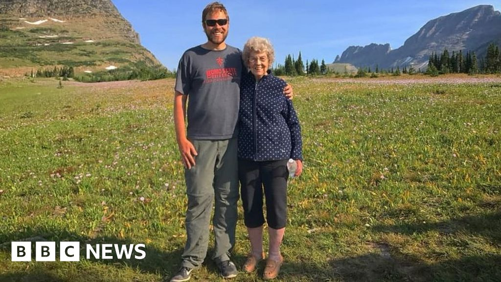 Taking his grandmother to every US national park