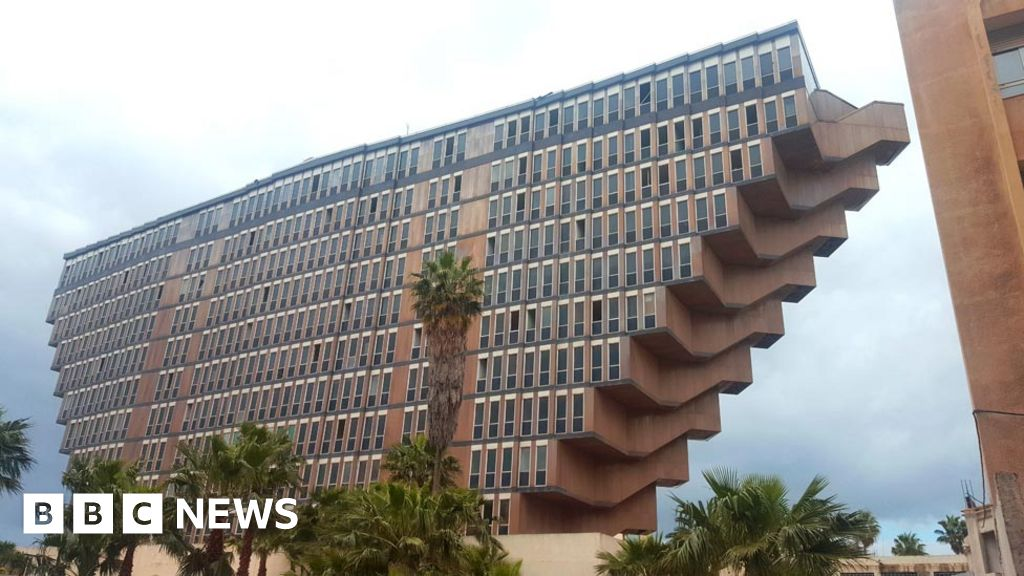 The mystery of Star Wars and the Brutalist hotel