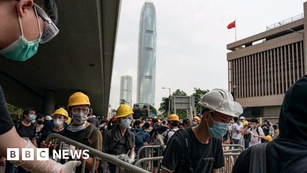 How Hong Kong demonstrators organised
