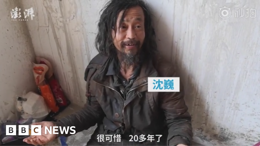 Homeless intellectual becomes online celebrity in China