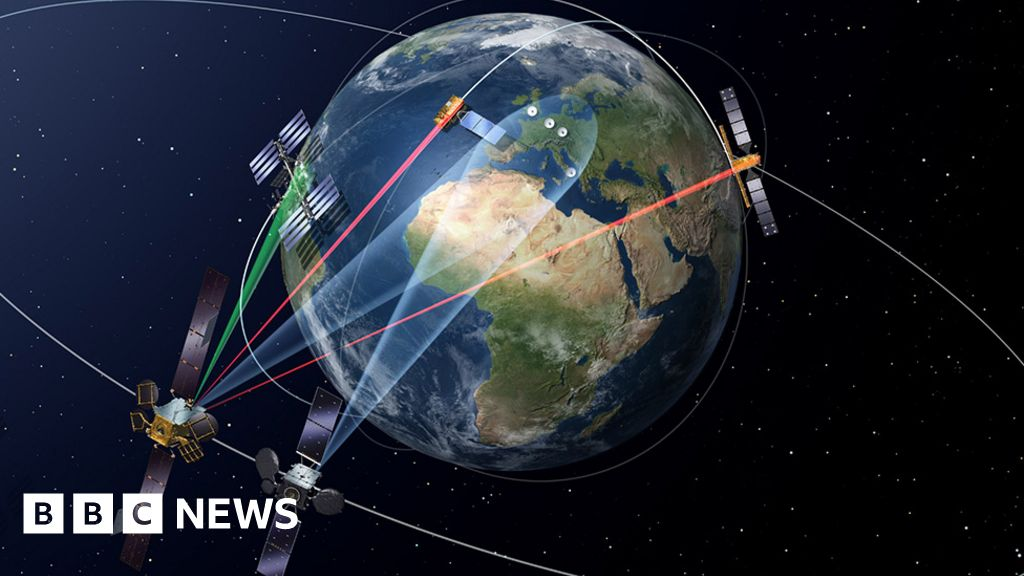 Europe launches second space laser satellite